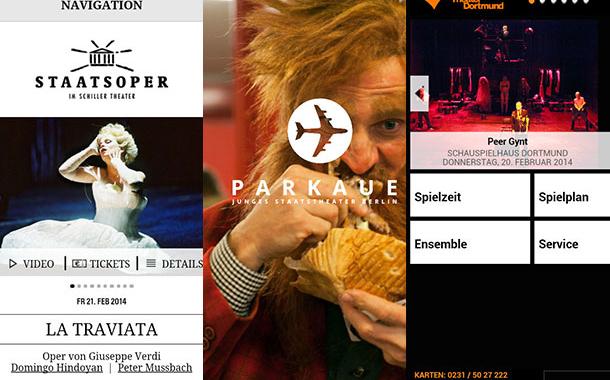 24 von 143 Theater-Websites für mobile Geräte optimiert