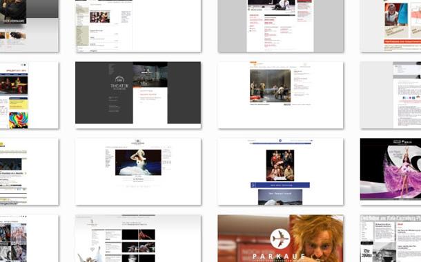 Theater-Homepages, eine Typologie