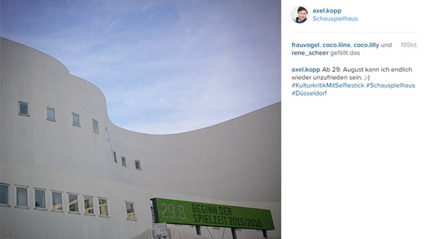 Jedes siebte Theater ist auf Instagram