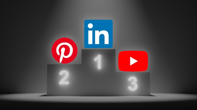 Social-Media-Strategie: Mehr Mut zu LinkedIn, Pinterest und YouTube!