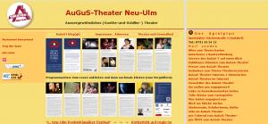 Screenshot von der Website des AuGuS-Theaters